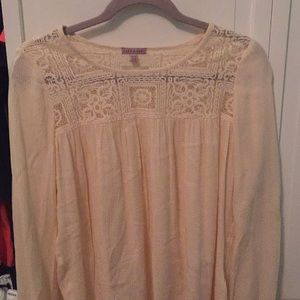 Cape Juby light pink/white blouse